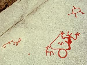 Petroglyphs by Werner Forman