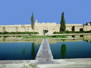 The gardens of Marrakesh by the long walls of the city by Werner Forman