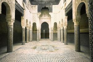 The Madrasa at Sale by Werner Forman
