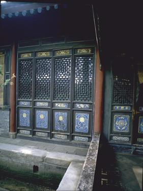 The Scripture Hall at the Great Mosque in Xian by Werner Forman