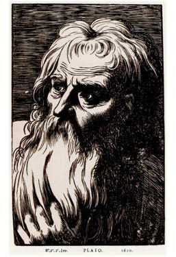 Werner van den Valckert (Plato) Art Poster Print