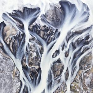 Iceland Aerial View by Werner Van Steen