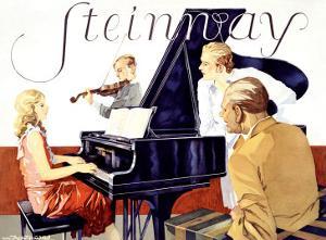 Steinway by Werner Von Axster-Heudtlass
