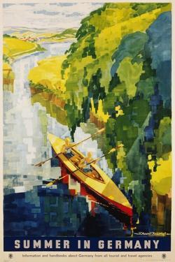 Summer in Germany Poster by Werner Von Axster-Heudtlass