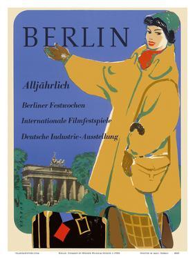 Berlin, Germany - International Film Festival - Germany Industry by Werner Wilhelm Buerger