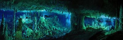 The Cascade Room Leads Divers Deeper Into Dan's Cave on Abaco Island by Wes C. Skiles