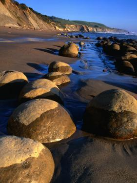 Bowling Ball Beach in the Point Arena Area, Mendocino, California, USA by Wes Walker