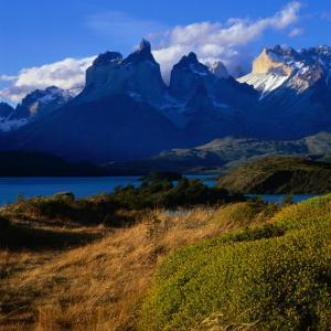 Cuernos in Late Afternoon Light, Torres Del Paine National Park, Chile by Wes Walker