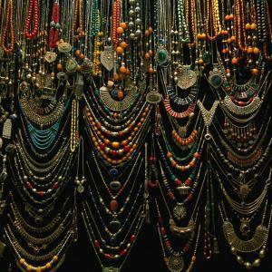 Jewellery for Sale at Istanbul Bazaar, Istanbul, Turkey by Wes Walker