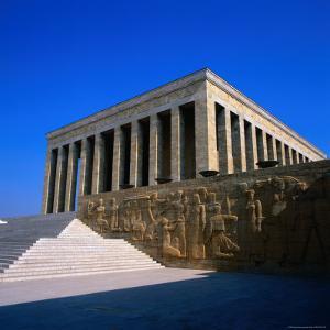 Kemal Ataturk's Mausoleum in Ankara, Ankara, Ankara, Turkey by Wes Walker