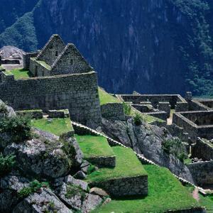 Machu Picchu Overlooking the Sacred Urubamba River Valley, Machu Picchu, Cuzco, Peru by Wes Walker