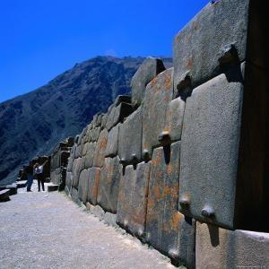Part of the Temple at Ollantaytambo, Cuzco, Peru by Wes Walker