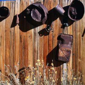 Rusted Pots and Pans from the Cerro Gordo Mine, Inyo National Forest, California, USA by Wes Walker
