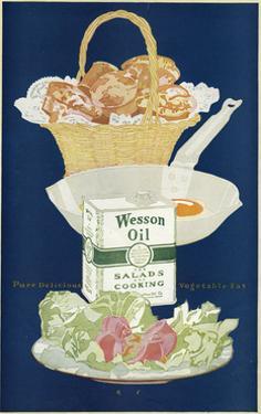 Wesson Salad Oil Advert