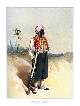 West India Regiment, C1890 by H Bunnett