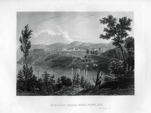 West Point Military School, New York, 1855