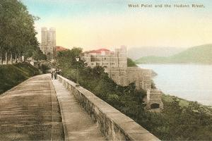 West Point on Hudson River