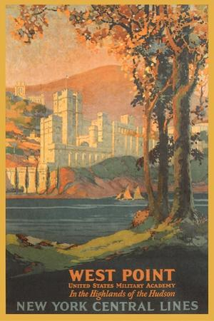 West Point Travel Poster