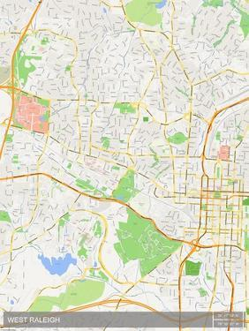 West Raleigh, United States of America Map