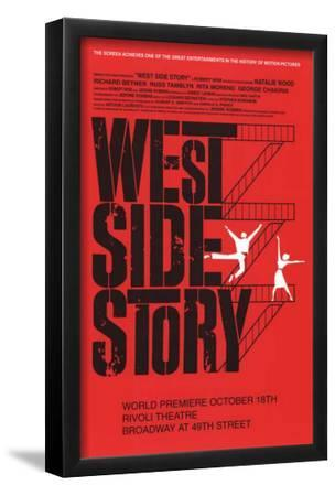 West Side Story - Broadway Poster