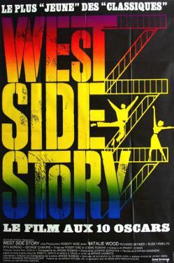 West Side Story, French Movie Poster, 1961
