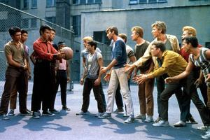 West Side Story, George Chakiris, Russ Tamblyn, David Winters, 1961
