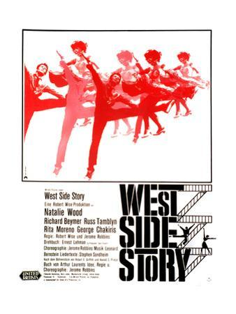 West Side Story, German Poster Art, 1961