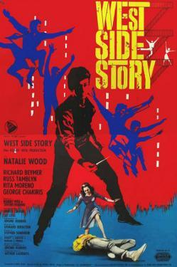 West Side Story, Italian Movie Poster, 1961