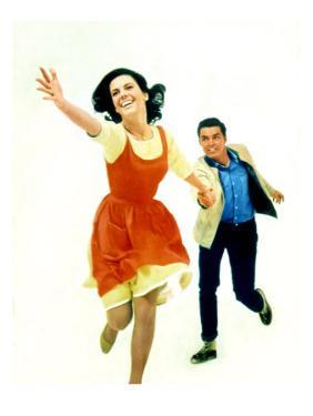 West Side Story. Natalie Wood and Richard Beymer, 1961