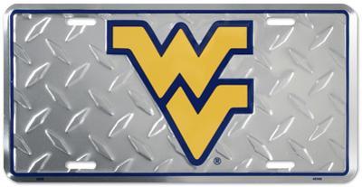 West Virginia Diamond License Plate