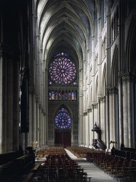 Western Nave of Reims Cathedral