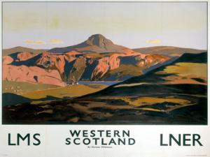 Western Scotland, LNER/LMS, c.1935