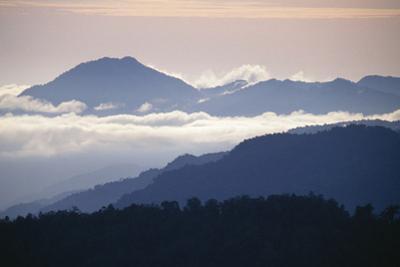 Western Sepik Torricelli Mountain Range from Mt Somoro