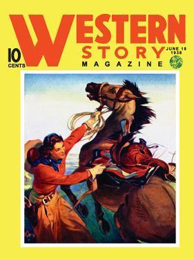 Western Story Magazine: She Ruled the West