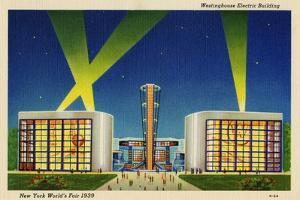 Westinghouse Westinghouse Electric Building. New York World's Fair 1939.