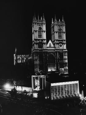 Westminster Abbey Floodlit