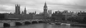 Westminster Bridge, Big Ben, Houses of Parliament, Westminster, London, England