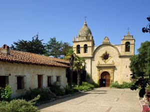 Carmel Mission Basilica, Founded in 1770, Carmel-By-The-Sea, California, USA by Westwater Nedra