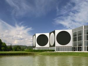 Modern Buildings of the Vasarely Foundation at Aix En Provence, Provence, France, Europe by Westwater Nedra