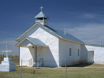 Parish Church at Valiadero, on State Road 104, in Las Vegas, New Mexico, USA