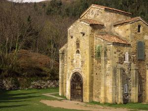 Royal Chapel of Summer Palace of Ramiro I, at San Miguel De Lillo, Oviedo, Asturias, Spain by Westwater Nedra