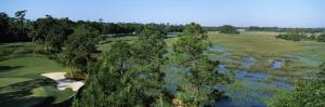 Wetlands in a Golf Course, Cougar Point, Kiawah Island Golf Resort, Kiawah Island