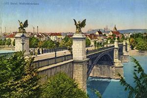 Wettstein Bridge, Basel, Switzerland, C1936