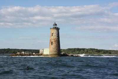 Whaleback Lighthouse Maine Photo Art Print Poster