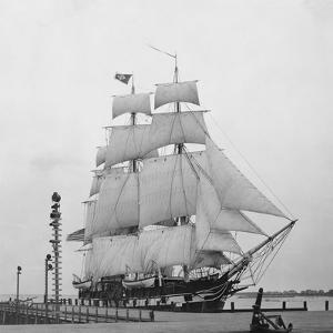 Whaling Ship at a Dock