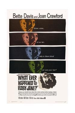 What Ever Happened To Baby Jane?, 1962, Directed by Robert Aldrich
