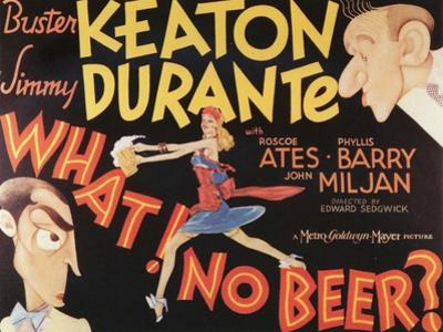 What! No Beer?, 1933