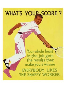 What's Your Score