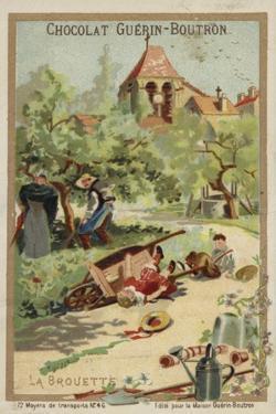 Wheelbarrow Accident