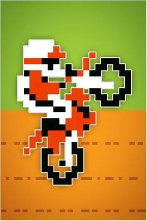 Wheelie 8-bit Video Game
